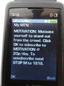 MTN Ghana apparently fraudulent-practices code 1818, 1773
