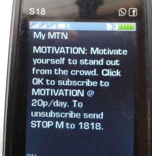 MTN Ghana in fraudulent practices? Shortcode 1818
